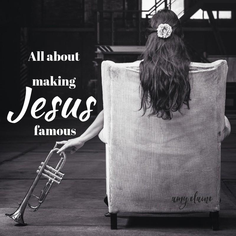 confession self promoting Jesus