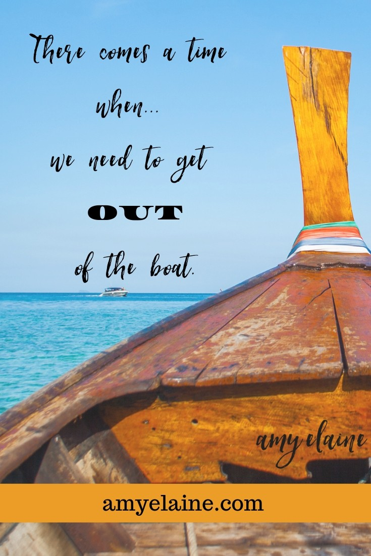 Anchored in Christ Get Out of Boat