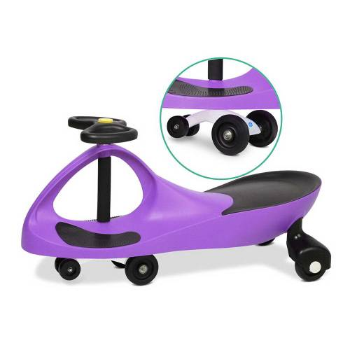 Pedal Free Swing Car 79cm - Purple