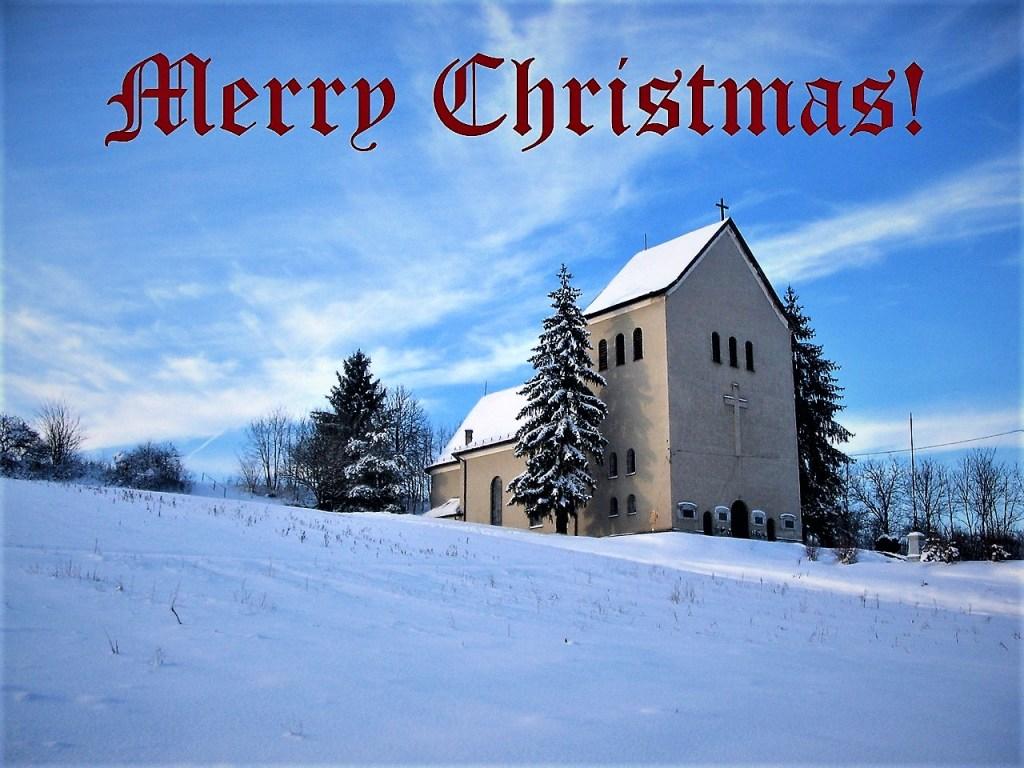 12 Posts Christmas Say Merry Christmas