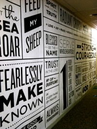 Typography Wall Art: An Interior Design Piece