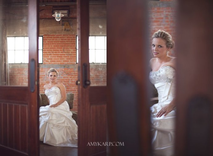 bridals at hickory street annex of ashley brown featured in texas wedding guide magazine by dallas wedding photographer amy karp photography