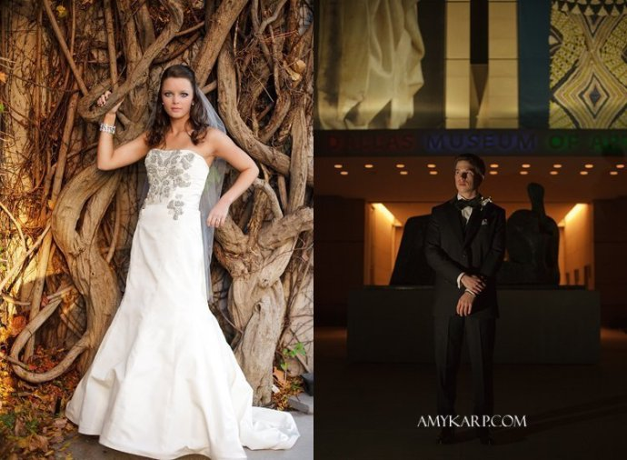 dallas museum of art wedding by texas wedding photographer amy karp