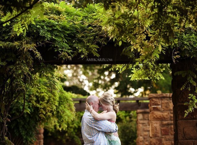 dallas fort worth wedding photographer at botanic gardens (1)