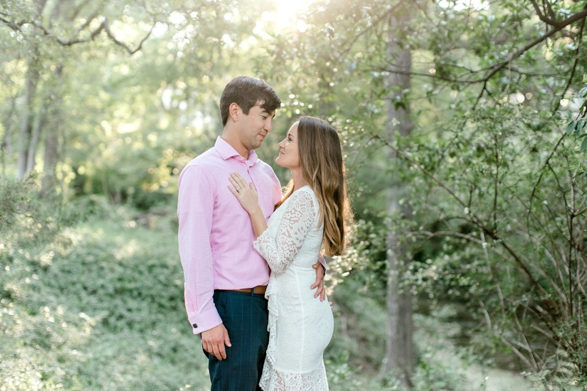 Dallas engagement photography with Kristina and Chris