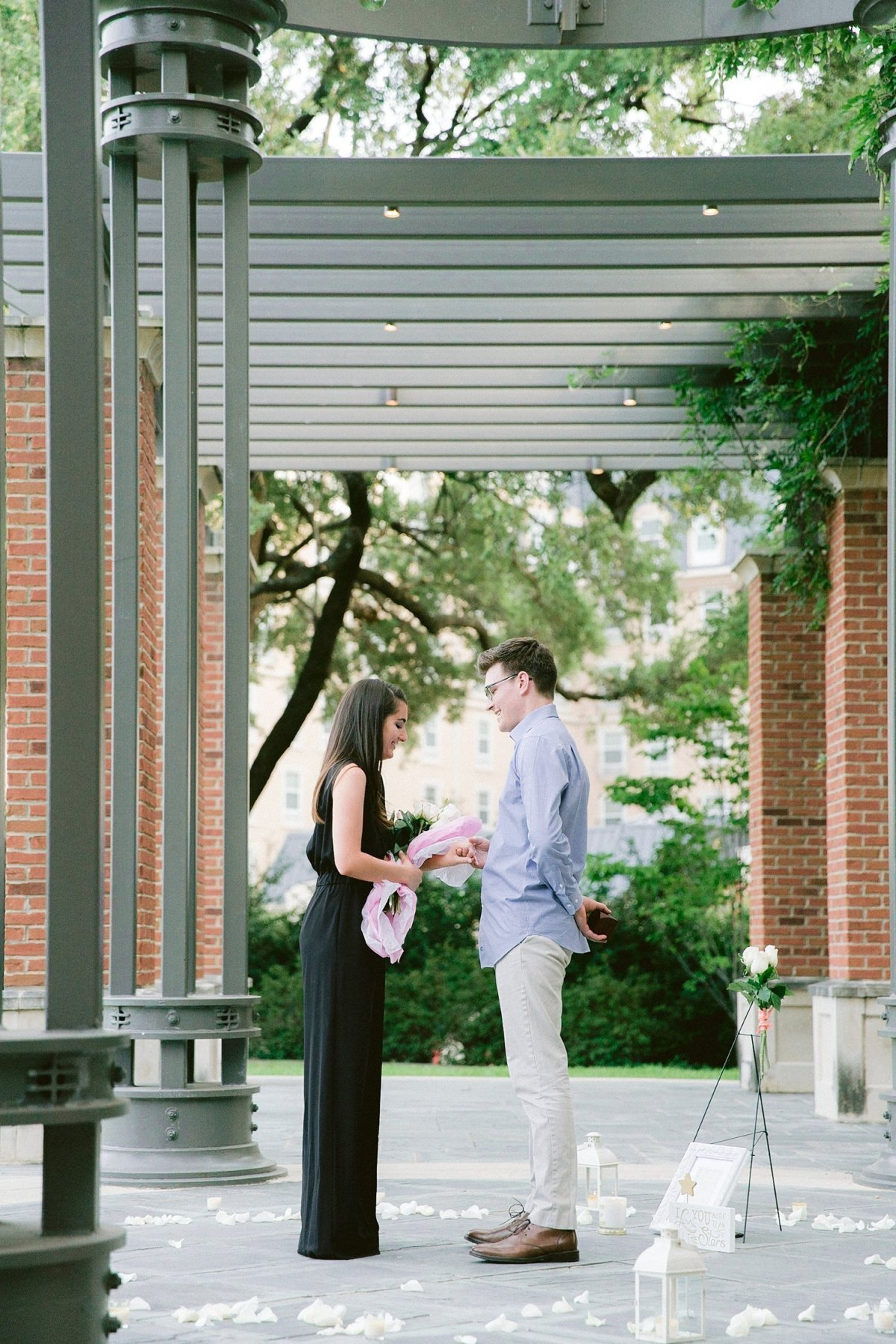 dallas proposal photographer with madison and alex width=