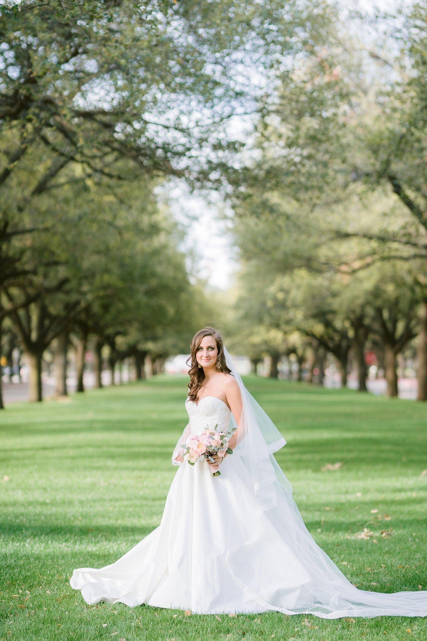 SMU Boulevard Bridal Portrait