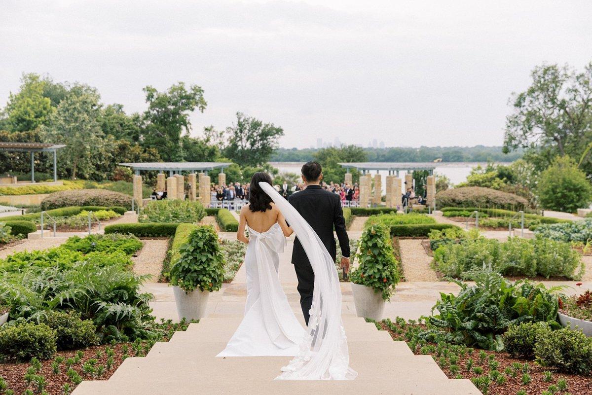Dallas arboretum wedding entrance a tasteful place