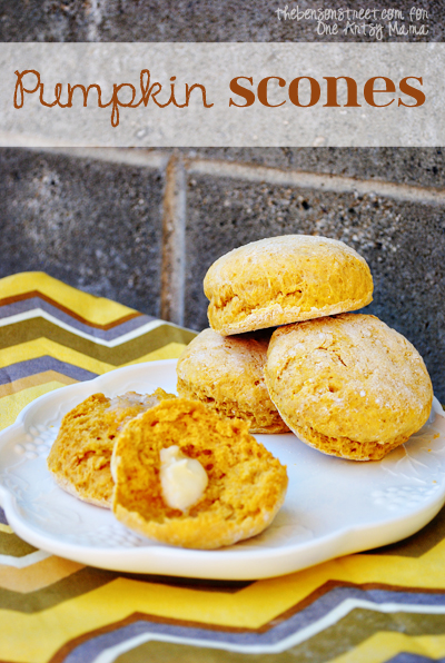 Easy Yummy Pumpkin Scone Recipe