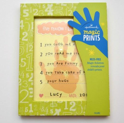 Hallmark Handprint Gift