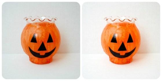 pumpkin votive