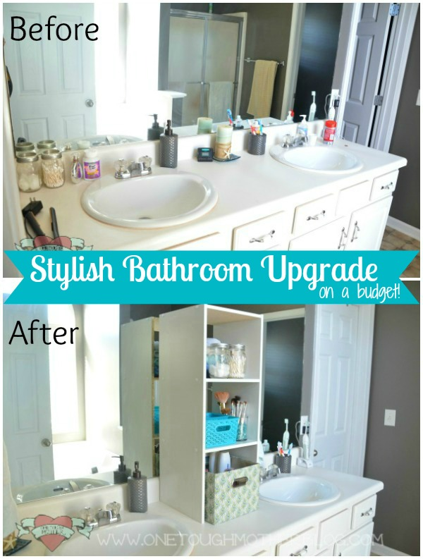 Stylish Bathroom Upgrade on a Budget