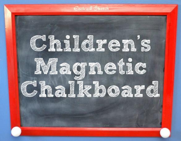 Children's Magnetic Chalkboard