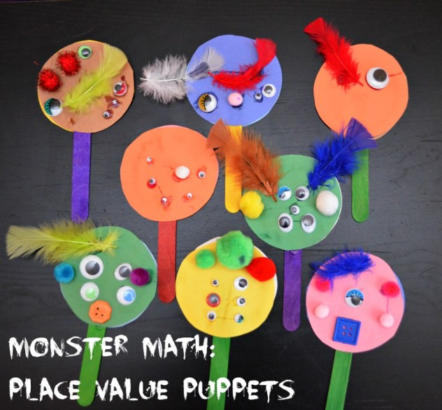 Place Value Puppets