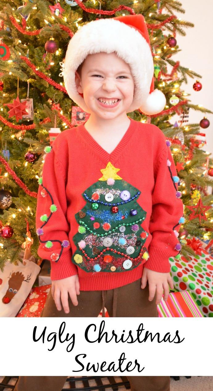 Christmas Tree Ugly Sweater Diy.Diy Ugly Sweater Amy Latta Creations