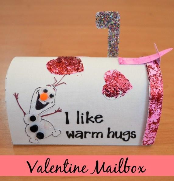 Valentine Mailbox with Elmer's