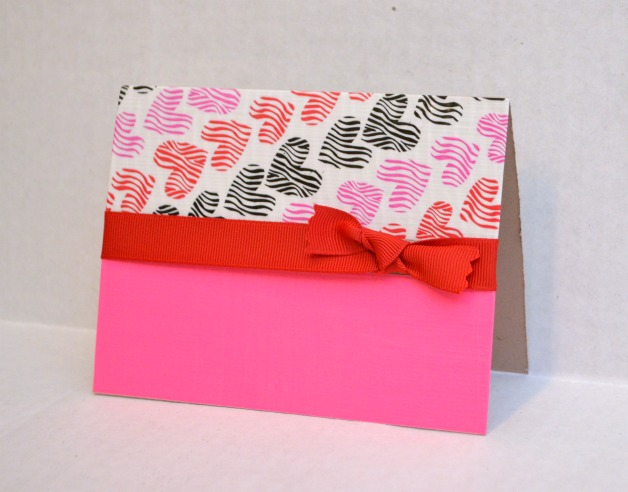 Duck Tape Valentine's Day Card