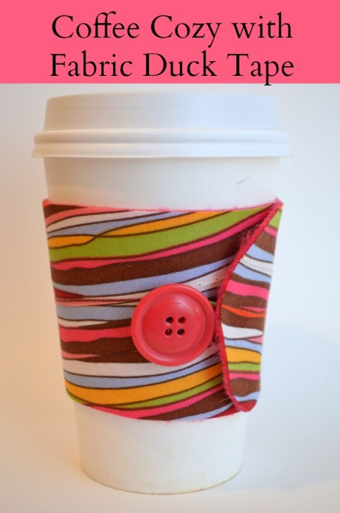 Duck Tape Coffee Cozy