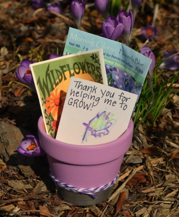 Teacher Appreciation Flowerpot