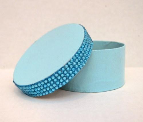 Monogram Jewelry Box and Tassel Necklace
