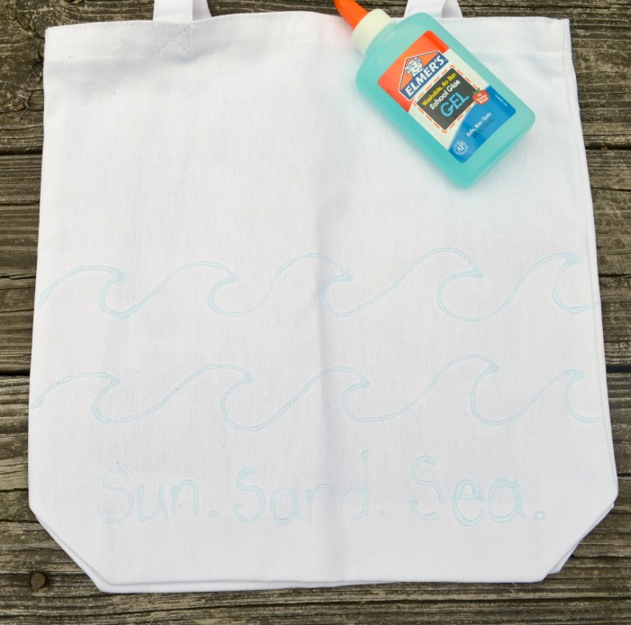 Dye Resist Beach Bag