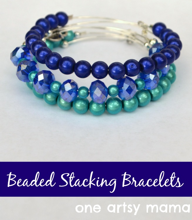 Beaded Stacking Bracelets
