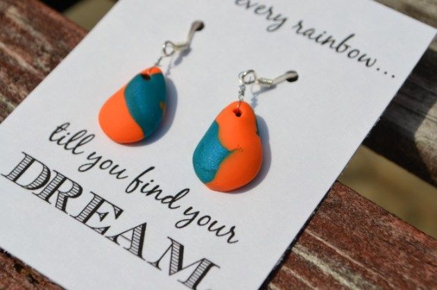 Sculpey Clay Earrings