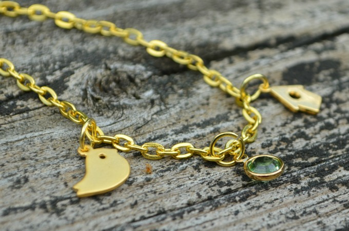 Little Bird Family Charm Bracelet