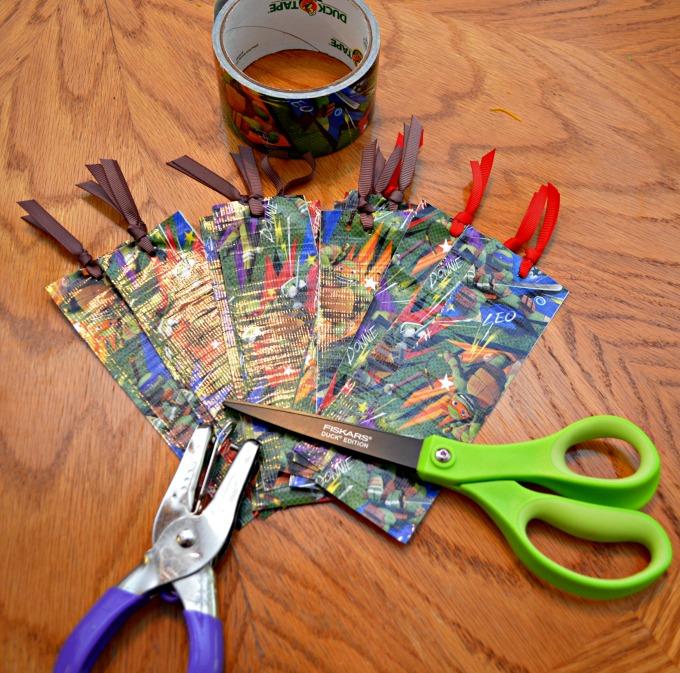 Teenage Mutant Ninja Turtle Bookmarks #TMNT