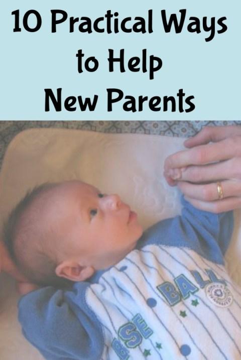 10 Practical Ways to Help New Parents