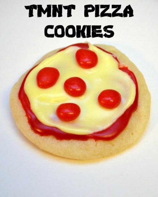 TMNT Pizza Cookies