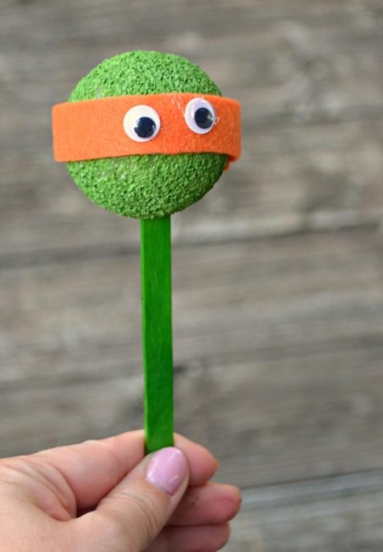 TMNT Stick Puppet