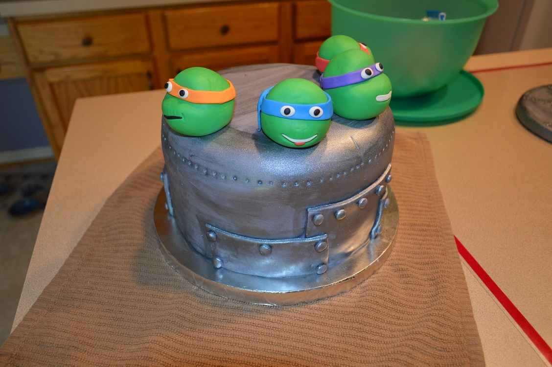 Cool Tmnt Birthday Cake Amy Latta Creations Funny Birthday Cards Online Elaedamsfinfo