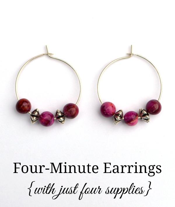 Four Minute Earrings