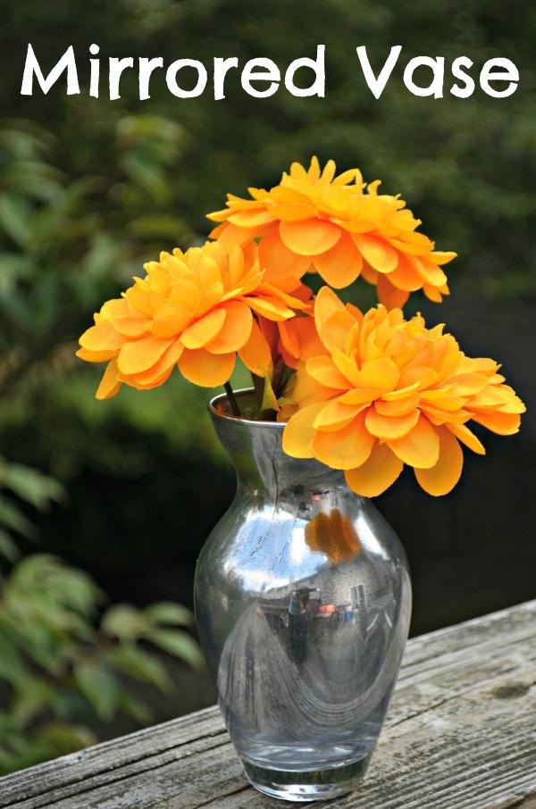Mirrored Vase