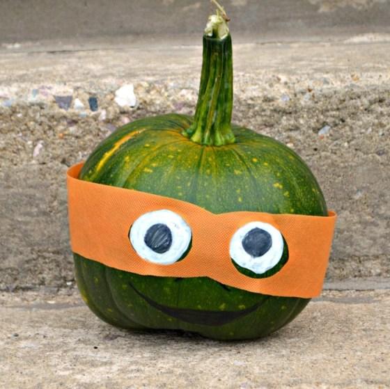 TMNT Pumpkin