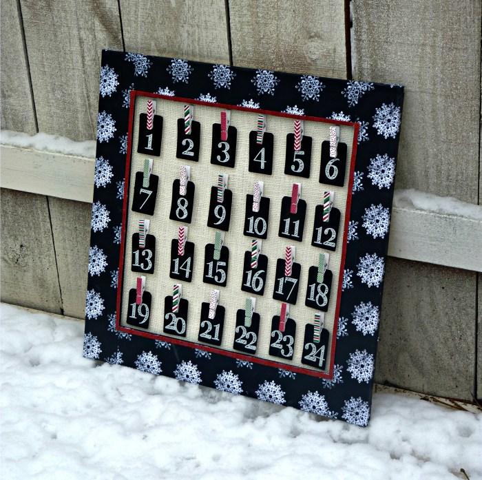 Christmas Countdown Advent Calendar
