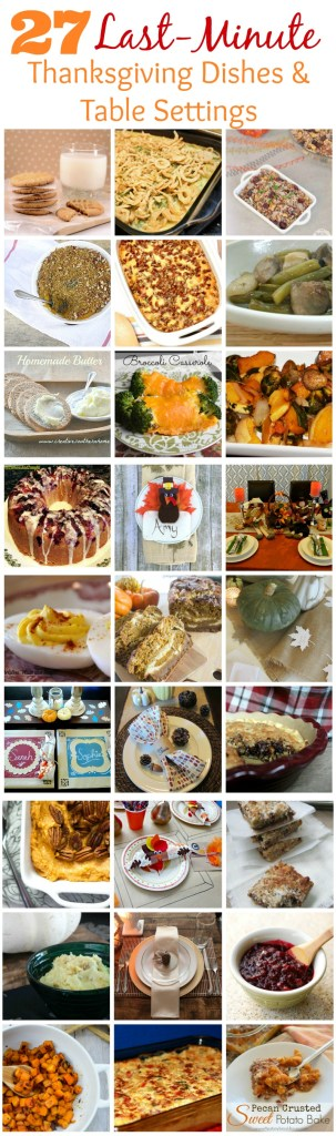 Thanksgiving Blog Hop Collage