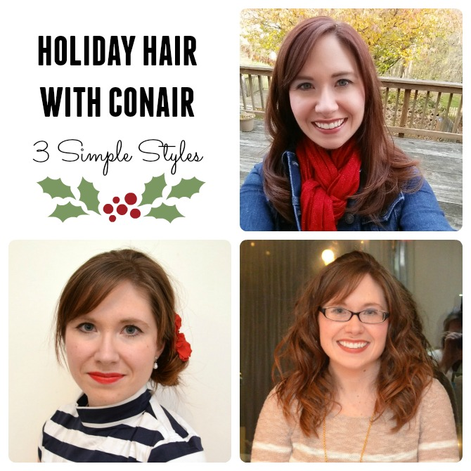 3 Easy Holiday Hair Styles