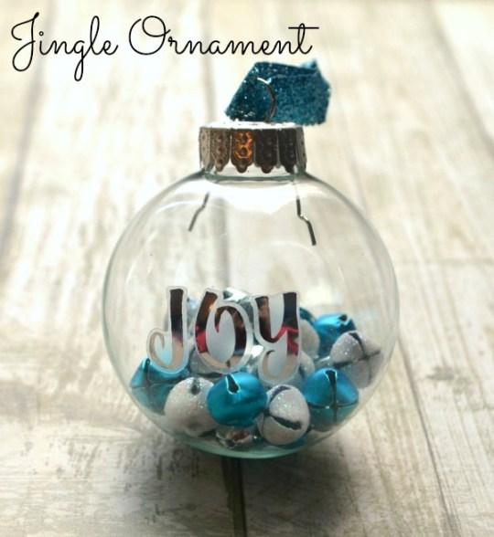 Joy Jingle Bell Ornament