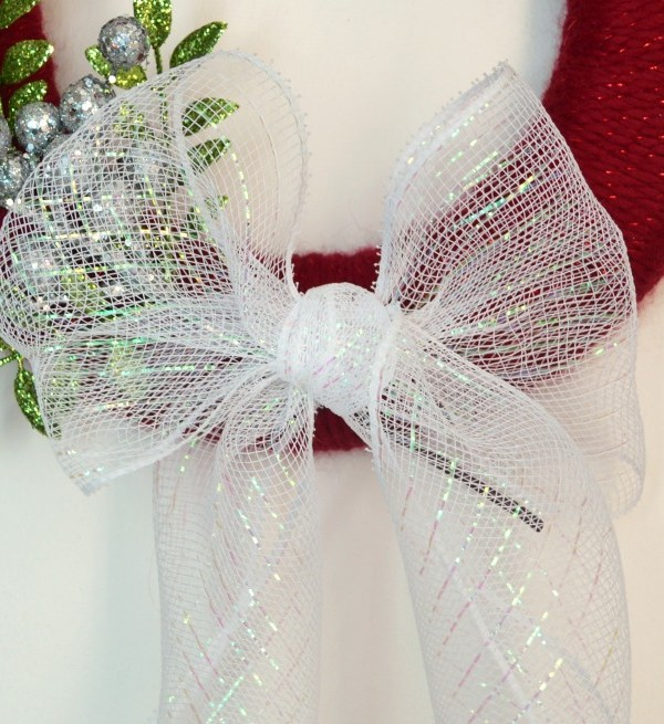 Sparkly Christmas Wreath
