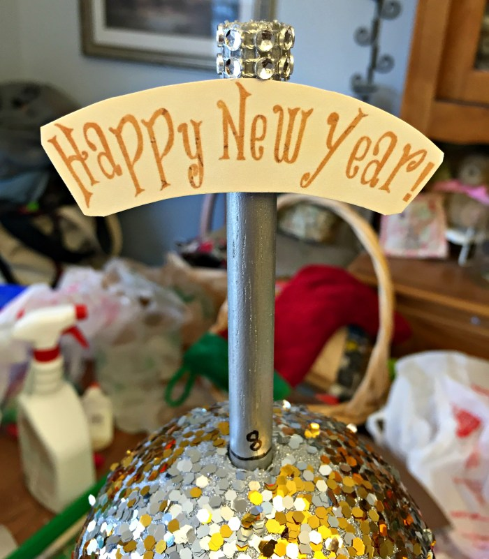 New Years Mini Ball Drop