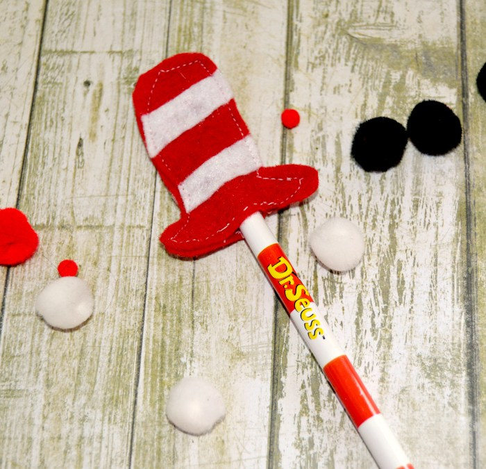 Dr. Seuss Pencil Toppers