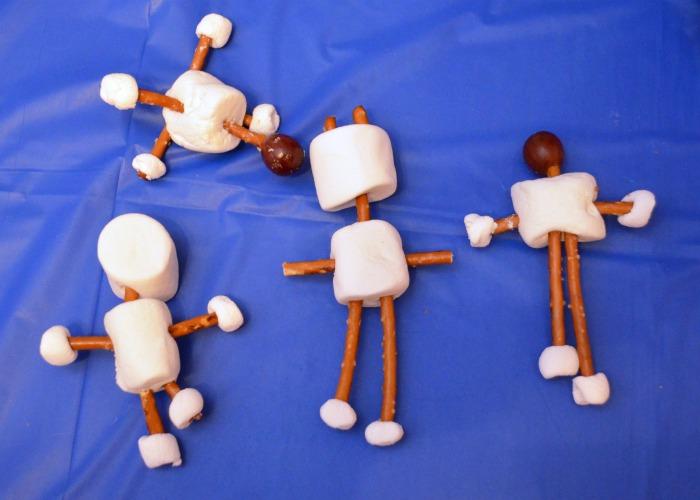 Marshmallow Robot Snacks