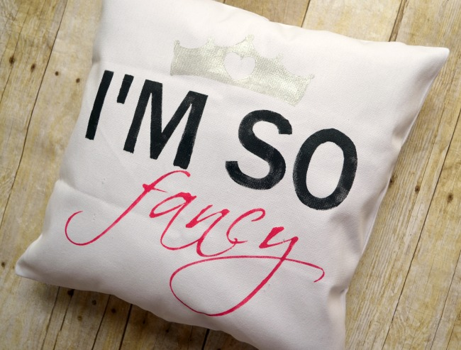 I'm So Fancy Pillow