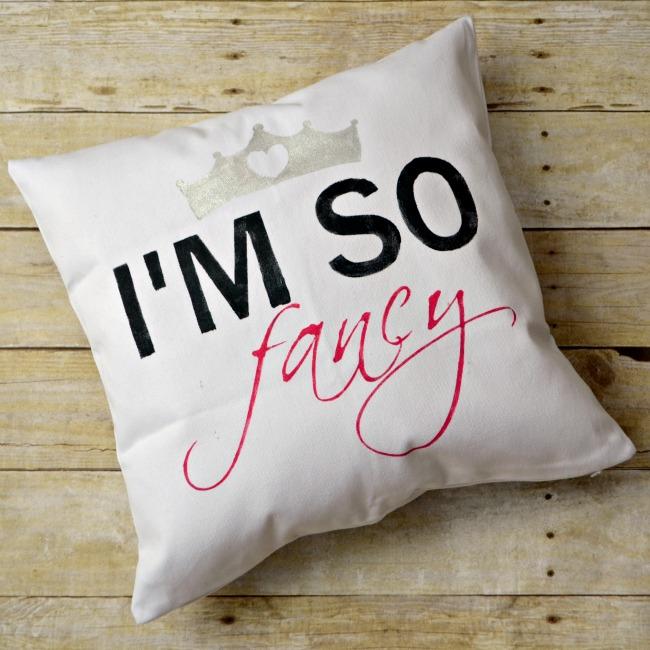 I'm So Fancy Pillow