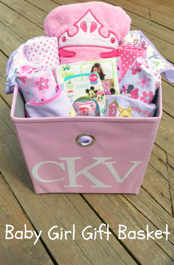 Disney Baby Girl Gift Basket