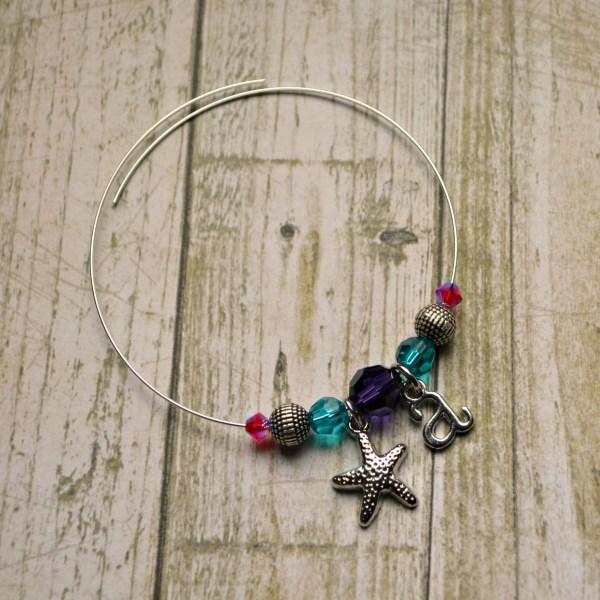 Wire Charm Bracelet