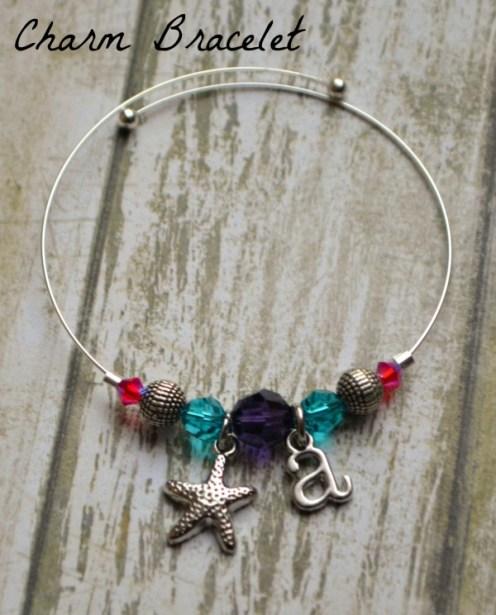 Memory Wire Charm Bracelet