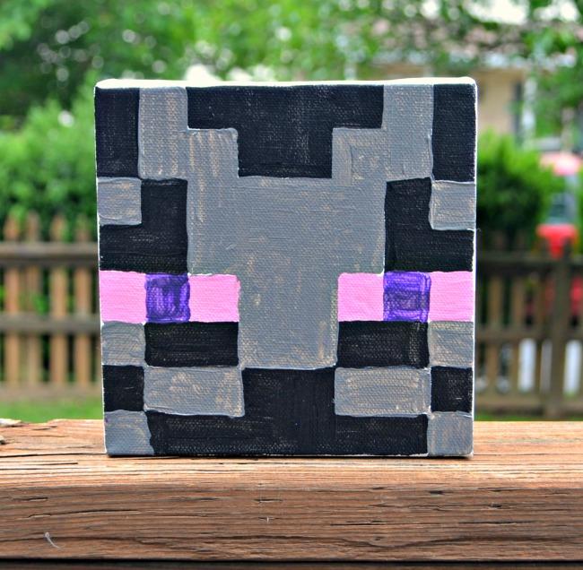 Minecraft Canvas Enderman